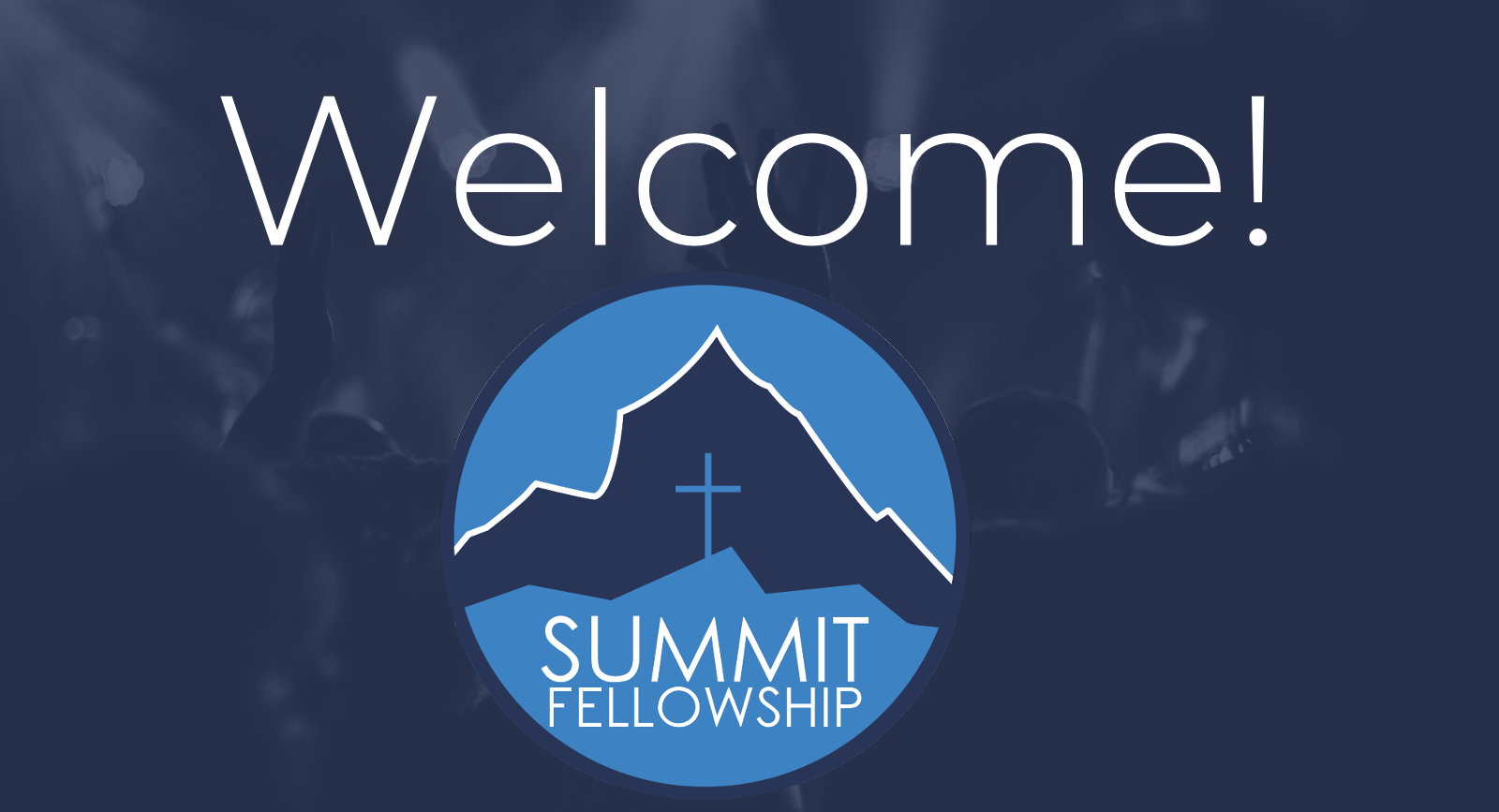 Welcome banner image with main Summit logo